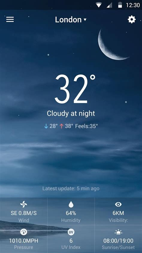 Android Get Current Locale by Local Weather Widget Forecast Android Apps On Play