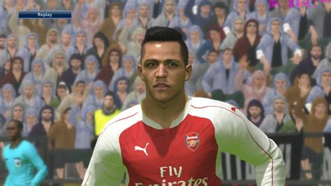 alexis sanchez pes stats pin alexis sanchez face on pinterest
