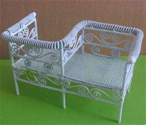 silla del amor silla del amor de metal miniatura para casa de mu 209 eca