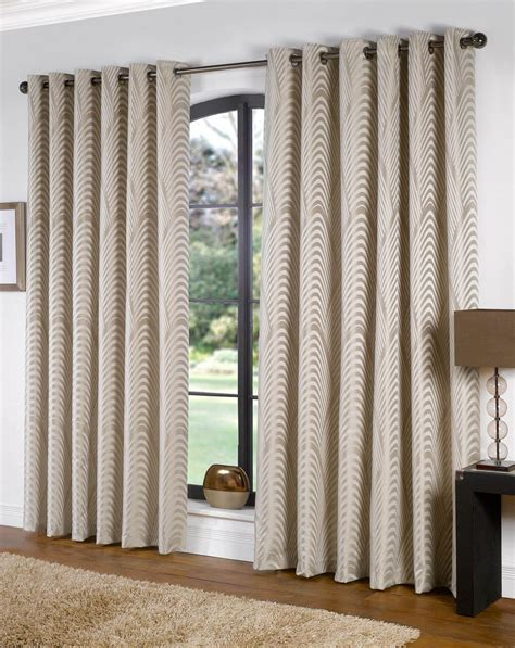blue beige curtains dakota lined eyelet ready made curtains fully lined