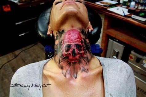 tattoo hals skull tattooo pinterest skulls and