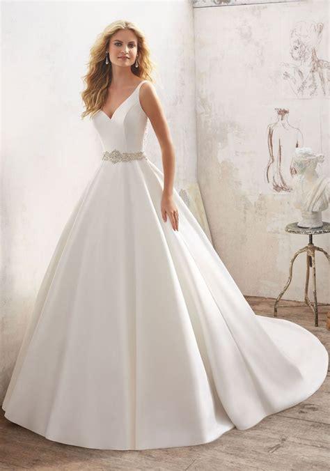 Wedding Gown Satin by Best 25 Satin Wedding Dresses Ideas On High