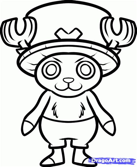 House Free Online how to draw chopper chopper from one piece step by step