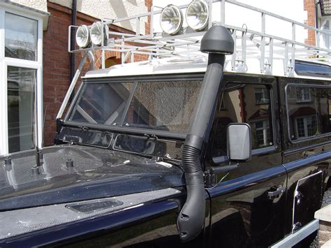 land rover snorkel fitting the snorkel nick s land rover series iii