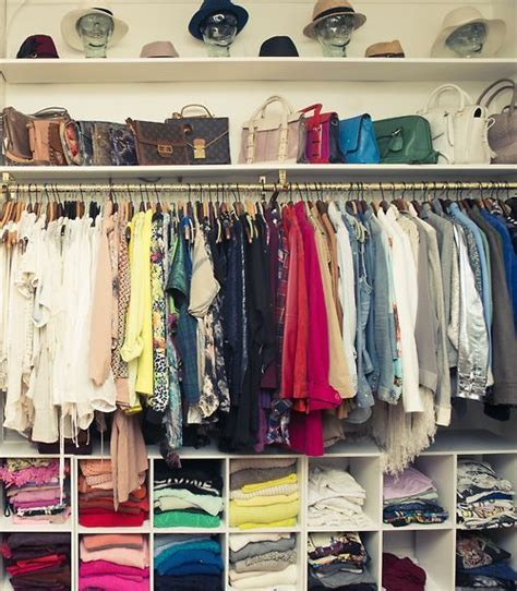 Well Organized Closet the experts spill their tips for a clean well organized closet