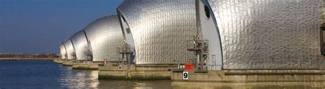 thames barrier from greenwich thames river services westminster the thames barrier