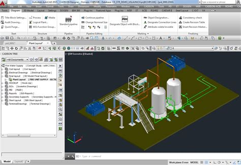 3d model designer plant equipment pipeline planning software