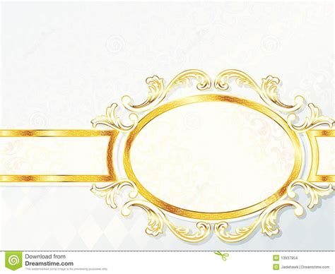 Wedding Banner Size by Beautiful Horizontal Rococo Wedding Banner Stock Images