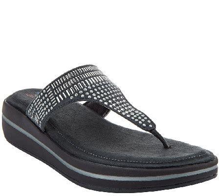skechers memory foam sandals skechers studded sandals with memory foam studly