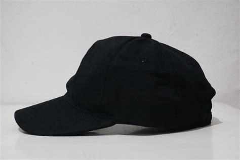 jual topi hitam polos  lapak michael flavio michaelflavio