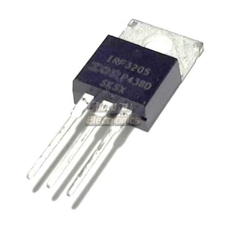 transistor mosfet irf3205 irf3205 n channel power mosfet 55v 110a