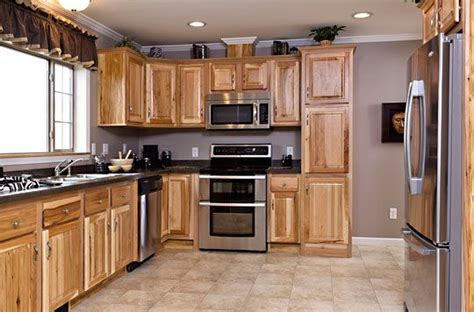 kitchen colors hickory cabinets quicua