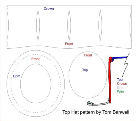 How To Make Paper Top Hat - steunk top hat tom banwell designs