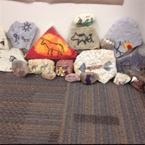 crafts ks2 age rock wall project ideas for school