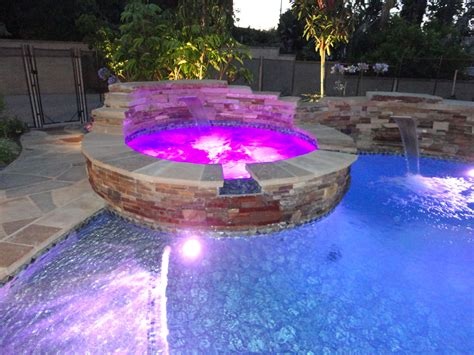 patio pool and spa entertainment pool and spa patio gemini 2 landscape