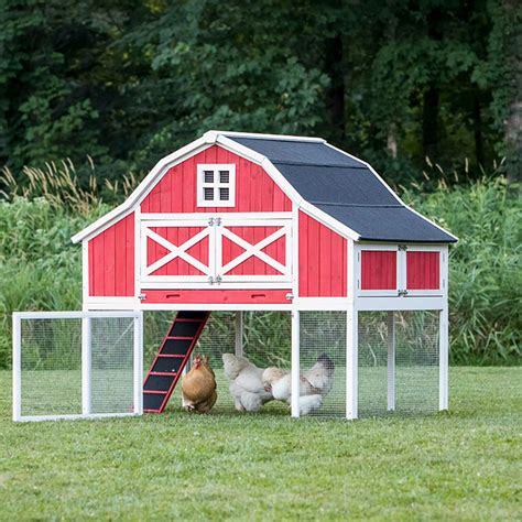 gambrel pole barn by barns and buildings chicken coop garden shed quot the gambrel roof quot chicken barn 9 12 chickens from my