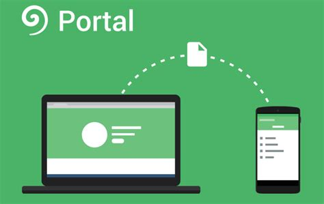 portal android pushbullet introduces portal a new app for easy file between your android device and pc