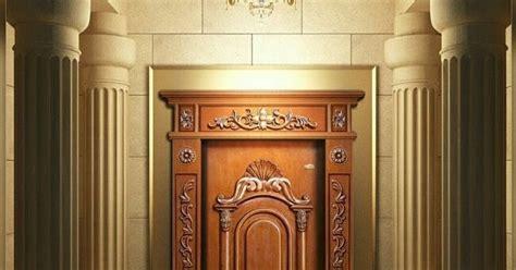 gambar pintu rumah  daun warna cat pintu rumah rumah