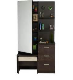 Interior Design App Online chocolat premium dressing table in cinnamon colour by