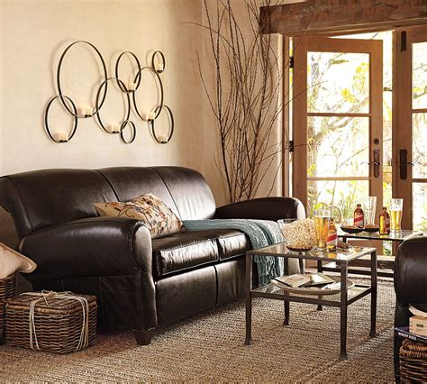 potterybarn living room adventures in semi adulthood our home kitchen living and dining