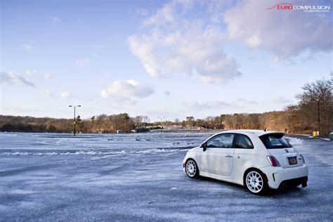 winter and the abarth