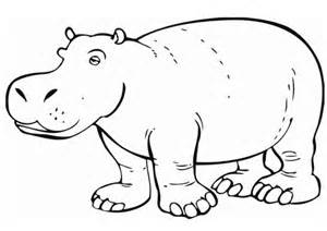 hippo coloring pages hippo coloring pages