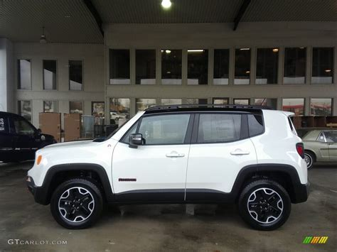 white jeep renegade 2017 alpine white jeep renegade trailhawk 4x4 117391328