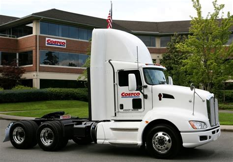 paccar truck first paccar mx engine truck delivered to costco