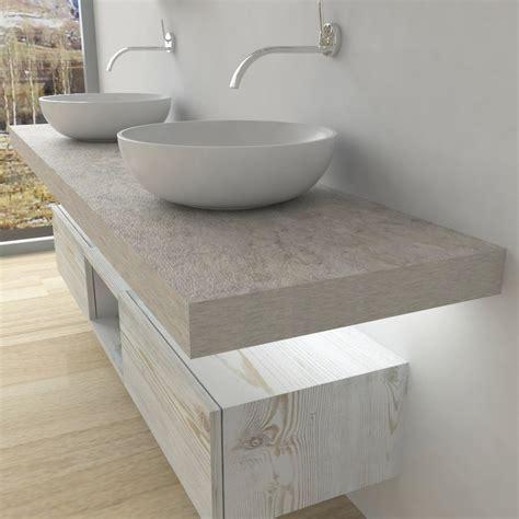 mensole in pietra mensole per lavabo da appoggio con led luminoso arredo