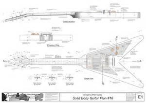 solid body electric guitar plan 16 electronic version