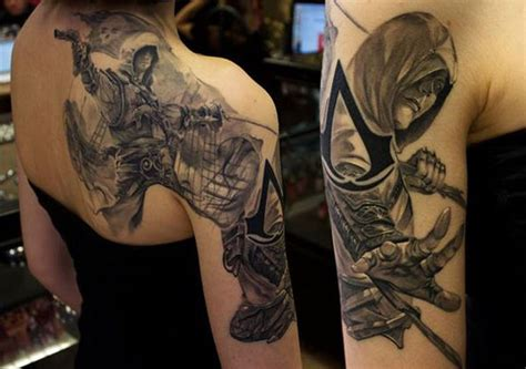 tattoo assassins ac assassin s creed tattoo by hellchen317 on deviantart