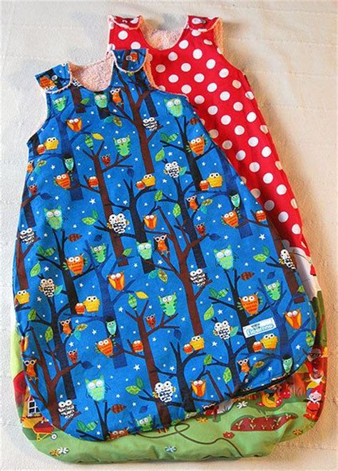 what pattern is used to develop the idea of the text diy summer baby sleeping bag sleep sack no pattern just