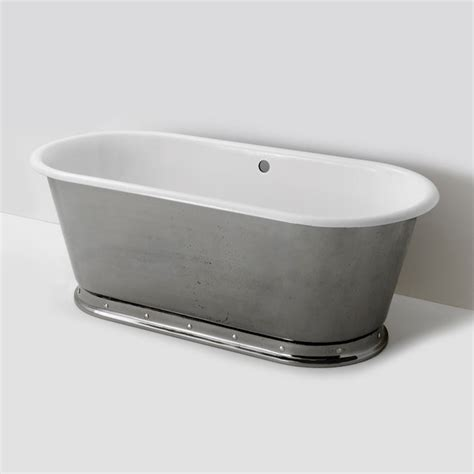 freestanding cast iron bathtub voltaire freestanding oval cast iron bathtub traditional