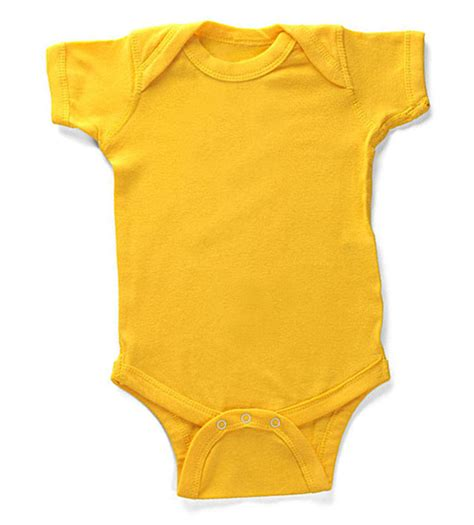 bulk baby bodysuits wholesale high quality comfortable plain yellow baby