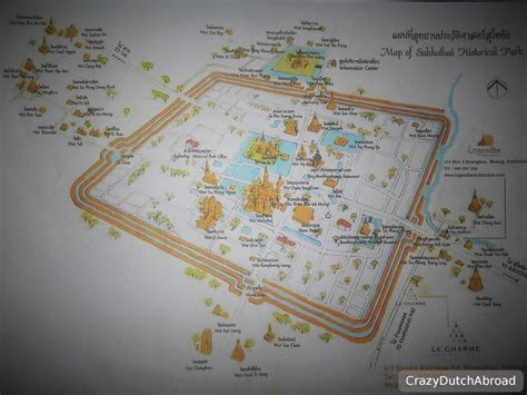 sukhothai historical park map saleng expedition 25 crazy dutch abroad