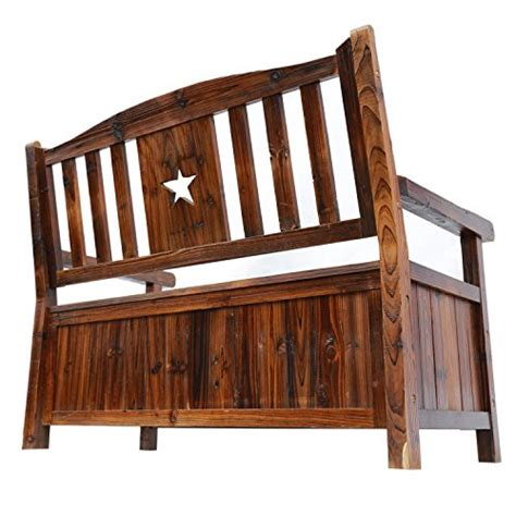 indoor bench with back and arms songsen wooden storage bench with arm and back garden