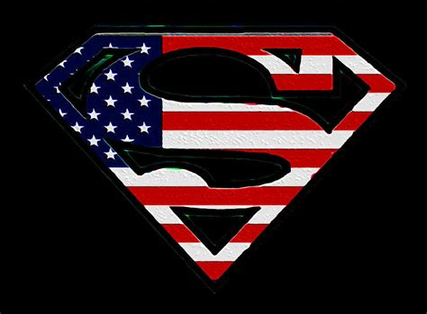 Superman Usa Flag Iphone All Hp american flag superman shield by bill cannon