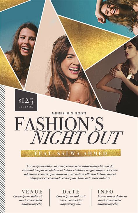 design event online flyer template flyers and event flyers on pinterest