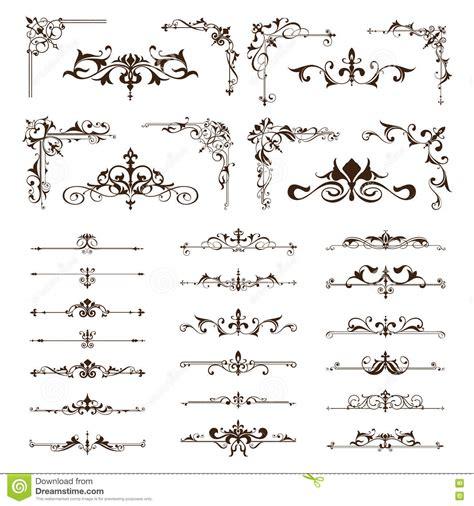 vintage design elements corners vector free vector vintage design elements borders frames ornaments