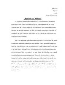 Exles Of Compare And Contrast Essays For College by Compare And Contrast Essay