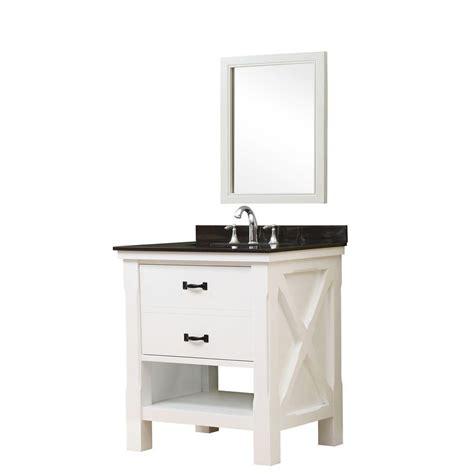 Black Vanity With White Top by Direct Vanity Sink Xtraordinary Spa 32 In Vanity In White With Granite Vanity Top In Black With