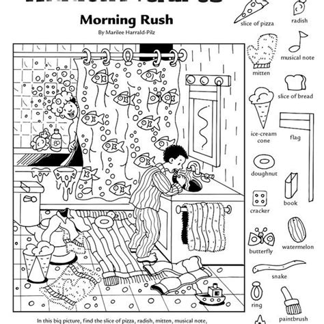 picture search books printable pictures worksheets coloring page