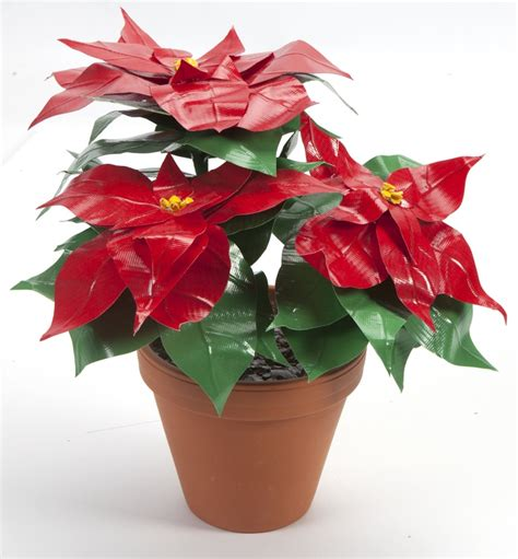 christmas pattern duct tape duct tape poinsettia from duck 174 brand learn how to make