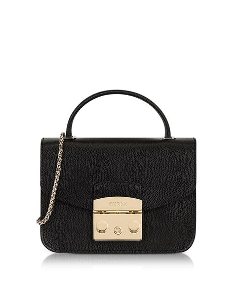 Furla Metropolis Top Handle Crossbody furla onyx metropolis mini top handle crossbody bag