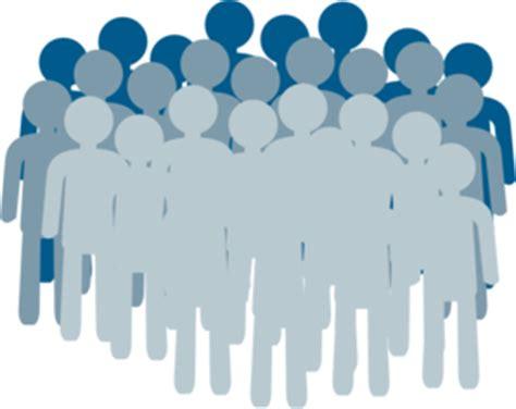 crowd clip art at clker com vector clip art online