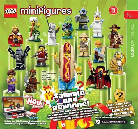 Lego Minifigure Seri 13 Complete Set Lego Minifigures Series 13 71008 Fully Revealed Photos