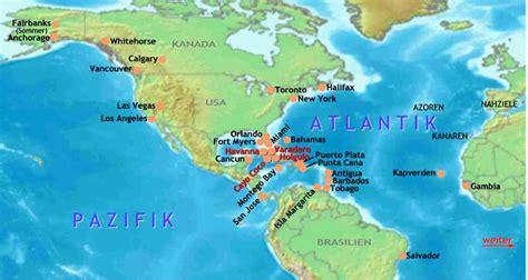 flüge nach amerika wann buchen charterfl 252 ge nach amerika karibik s 252 damerika atlantik