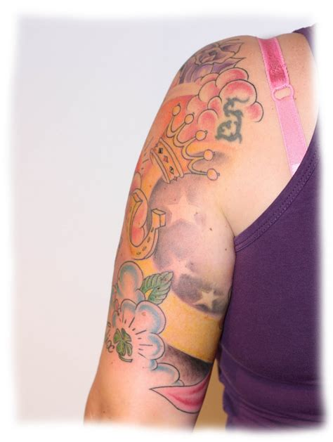 candy tattoo ink school sleeve