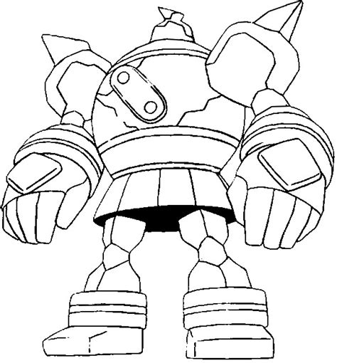 pokemon coloring pages golurk coloring pages pokemon golurk drawings pokemon