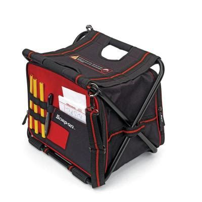 Home Depot Tool Bags by Snap On 16 In Folding Tool Bag With Built In Seat 870114